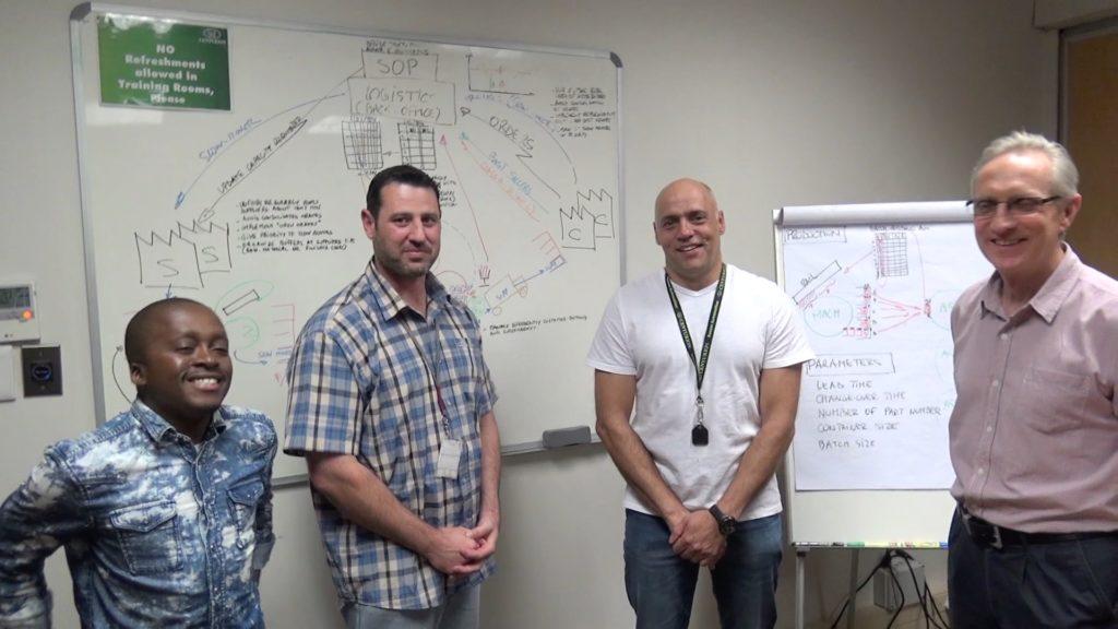 team workshop lean production Centurion